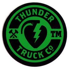 Thunder Sticker Mainliner Black/Green