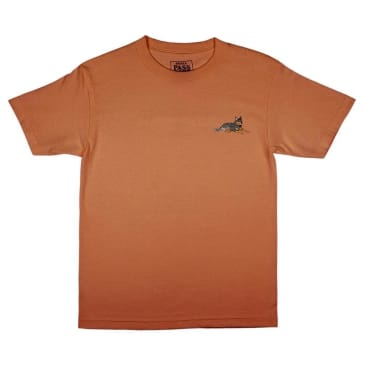 Pass~Port Best Friend Embroidery T-Shirt - Orange