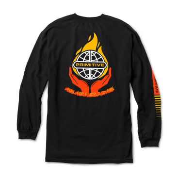 PRIMITIVE Fuel Longsleeve Black