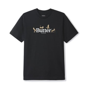 Butter Goods Monkey T-Shirt - Black