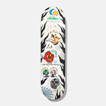 Baker Skateboards Rowan Happy Campers Skateboard Deck - 8.5""