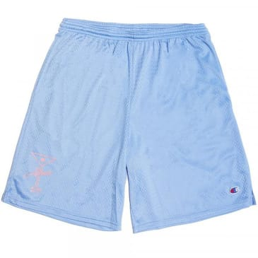 Alltimers League Player Shorts - Swiss Blue