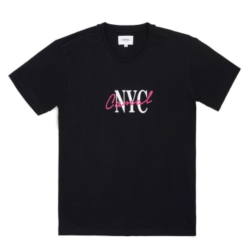Canal New York Lipstick T-Shirt - Black