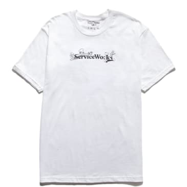 Service Works Chase T-Shirt - White