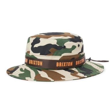 Brixton Ration II Bucket Hat - Camo