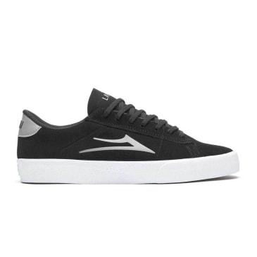 Lakai - Lakai Newport Suede   Black & Grey