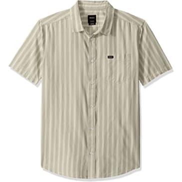 RVCA Hacienda Stripe Button-Up Shirt