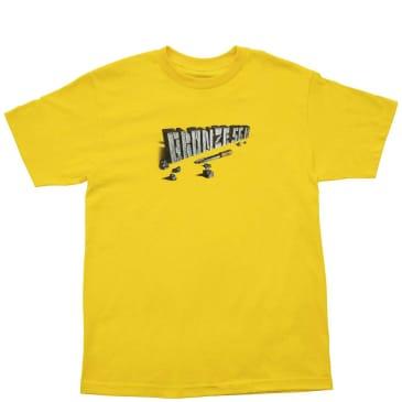 Bronze 56k Chisel T-Shirt - Yellow