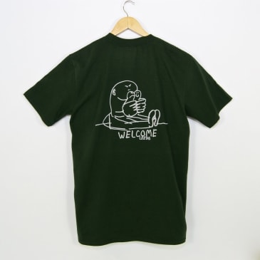 Welcome Skate Store - Gonz T-Shirt - Forest Green / Grey
