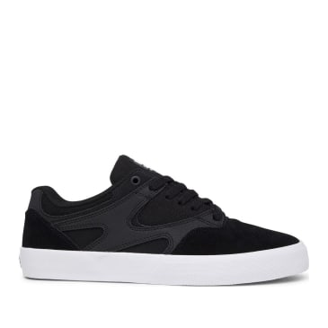 DC Kalis Vulc Skate Shoes - Black / White