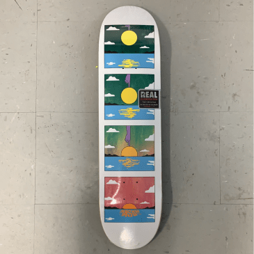Real Skateboards R1 Mason Silva Sunset Deck