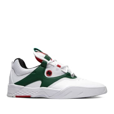 DC Kalis SE Skate Shoes - White / Green