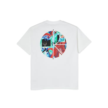Polar Skate Co Moth House Fill Logo T-Shirt - White