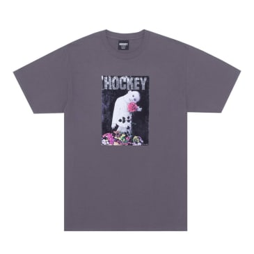Hockey Happy Place T-Shirt - Charcoal