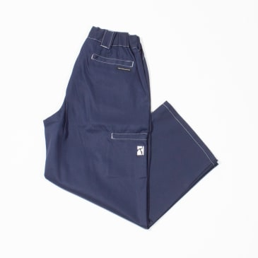 Poetic Collective Painter Pants - Navy / White Seams