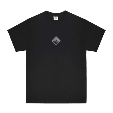 The National Skateboard Co. Classic Text T-Shirt - Black