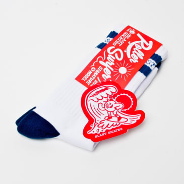 Blast Skates Ben Koppl Roller Surfer Socks (With Patch)