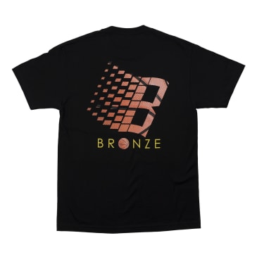 Bronze 56K Logo Basketball T-Shirt - Black