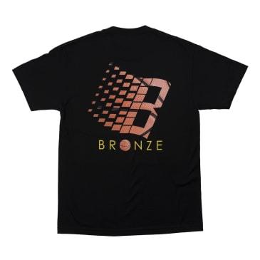 Bronze 56K Logo Basketball T-Shirt - Black