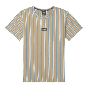 HUF Dexter Stripe Knit Top - Dried Herb