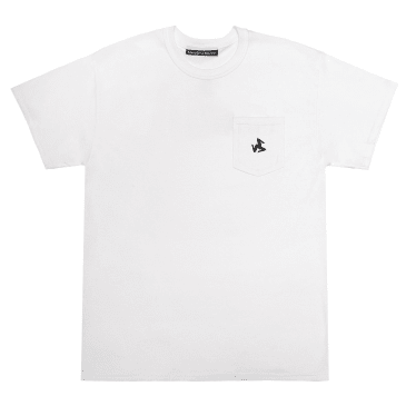 Call Me 917 Legs Pocket T-Shirt - White