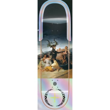 """Madness Skateboards - 8.5"""" Jack Fardell Great Goat R7 Deck - Holographic"""