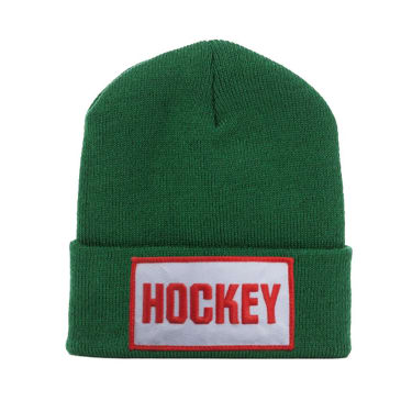 Hockey - Patch Beanie - Hunter Green