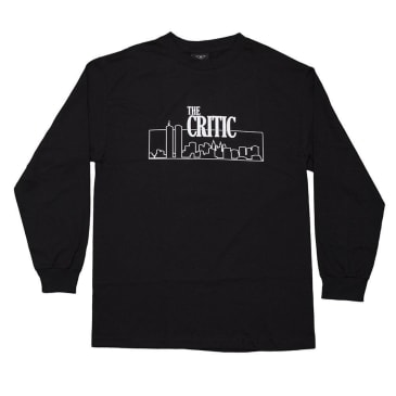 Alltimers The Critic Long Sleeve T-Shirt - Black