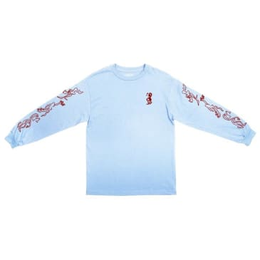 Pass~Port Drunk At Your Wedding Long Sleeve T-Shirt - Powder Blue