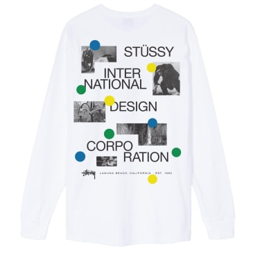 Stussy Dot Collage LS Tee
