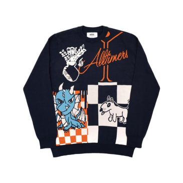 Vans x Alltimers Sweater - Dress Blue