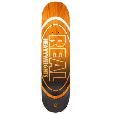 Real Heavyweight Orange Deck (8.25)