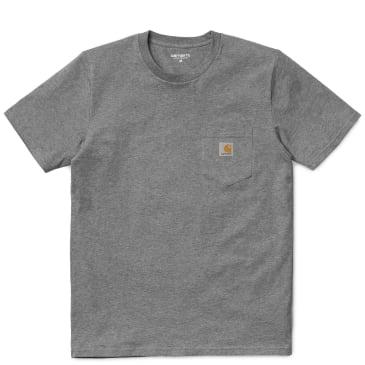 Carhartt WIP Pocket T-Shirt - Grey Heather