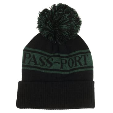 Pass~Port Pill Pom Pom Beanie - Green