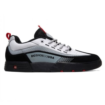 DC Legacy 98 Slim Black/White/Red Shoes