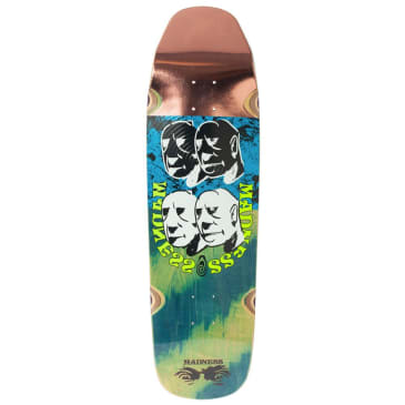 "Madness Skateboards - Bloc Head Deck 9"" Wide"