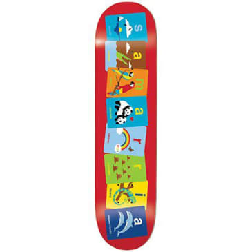 Enjoi Skateboards Samarria Brevard Flashcards R7 Skatebord Deck - 8.00