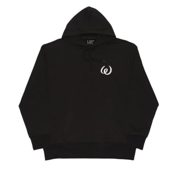 Wayward Skateboards - OPIUM FLASHBACK HOODED SWEATSHIRT BLACK