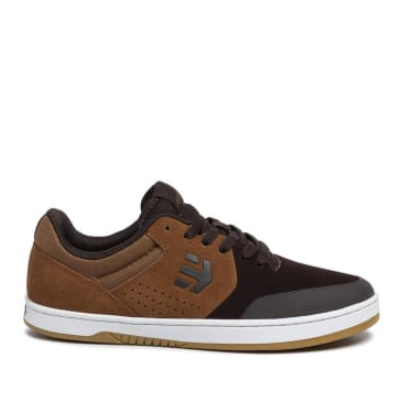 Etnies Marana Skate Shoes - Brown / Tan / Gum
