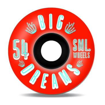 Sml Wheels Succulent Cruisers Iris 54mm