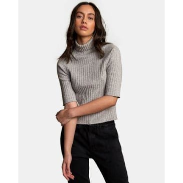 RVCA Women's Believer Ribbed Sweater