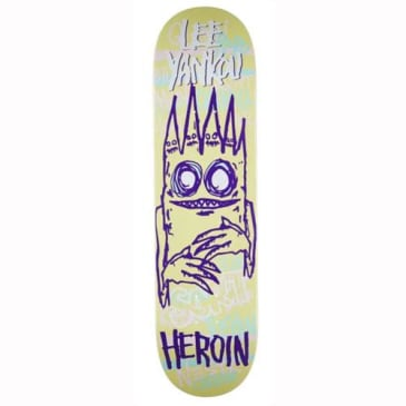 "Heroin Skateboards - 8.25"" Lee Yankou Imp 3 Deck"