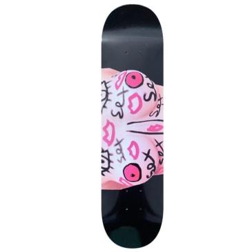 Sex Skateboards Tits Skateboard Deck - 8.00 Complete