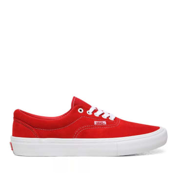 Vans Era Pro Skate Shoes - Red / White