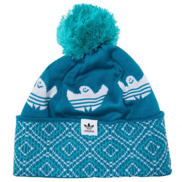 Adidas - Shmoo Pom Bobble Hat - Active Teal