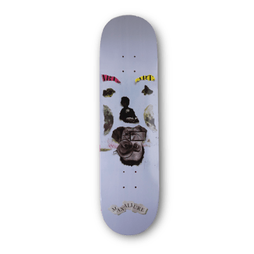 Maxallure Faces Skateboard Deck - 8.125""