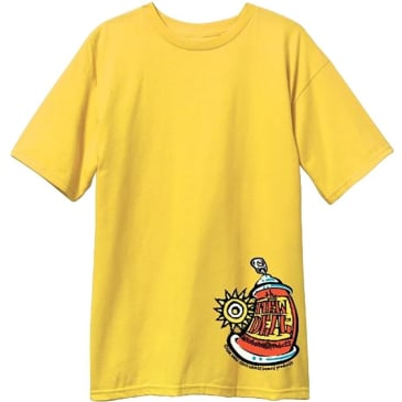 New Deal Spray Can T-shirt - Yellow