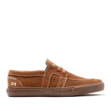 State Matt Rodriguez Vista Skate Shoes - Brown / Gum