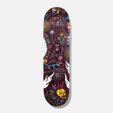 Baker Skateboards Reynolds Happy Campers Skateboard Deck - 8.38""