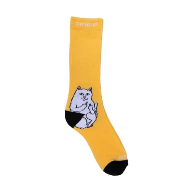 Ripndip Lord Nermal Socks - Gold